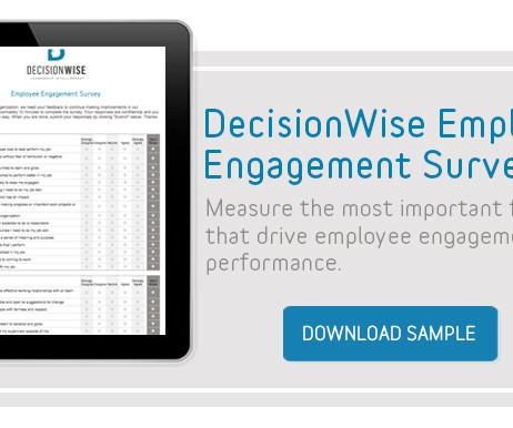 employee engagement survey sample