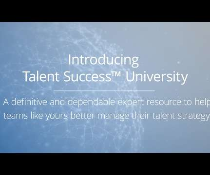 Certification and Talent Management - Human Resources Today