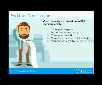 Certification and Webinar - Human Resources Today