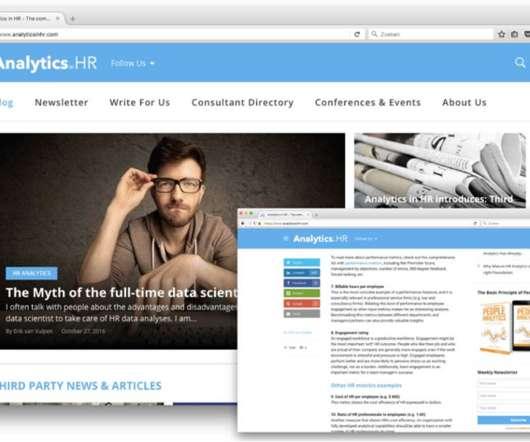 Analytics, Case Study and Metrics - Human Resources Today