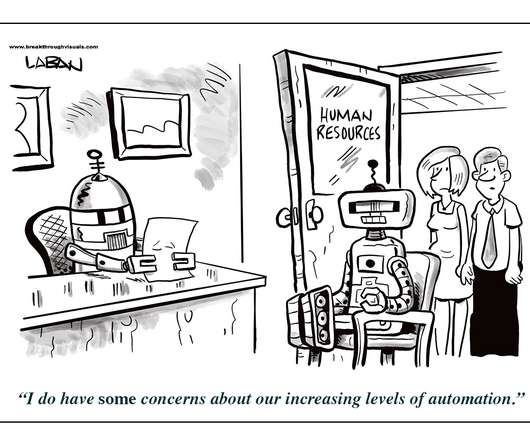 Human resources today cartoon coffee break increasing automation fandeluxe Gallery