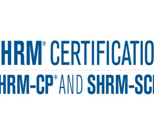 Certification and Wellness - Human Resources Today