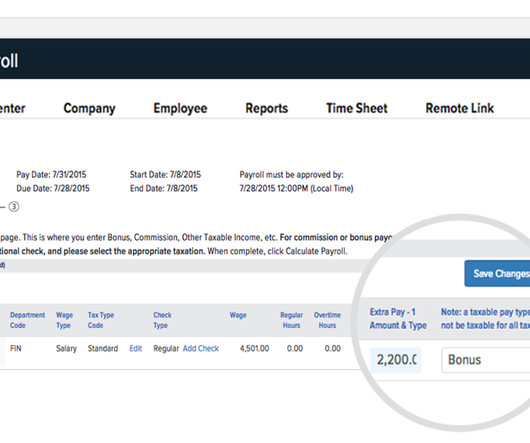 Payroll and performance management human resources today july product update new integrations and payroll enhancements fandeluxe Choice Image